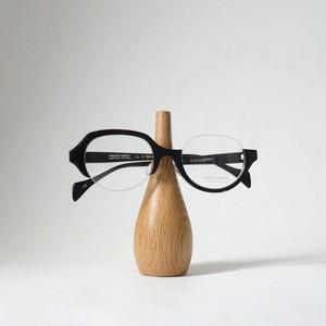 家具職人が作ったオークの眼鏡スタンド[小]