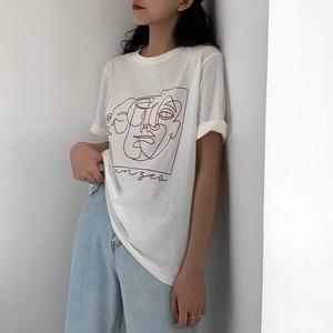 ドローイングアートTシャツ RD5983