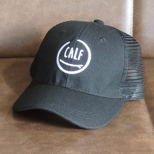 """CALF"" logo mesh-cap BLACK          メッシュキャップ"