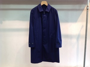 "niuhans""WATERPROOF COTTON RAIN COAT NAVY"""
