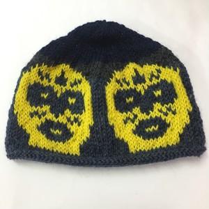 ゑでぃの手編みニット帽 覆面レスラー