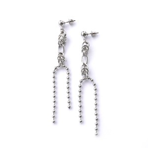 ASH/Earrings  Silver