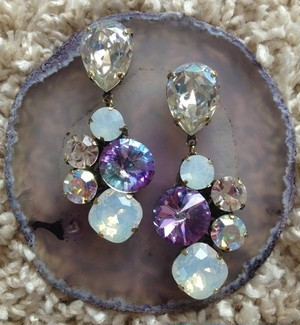 Swarovski pierce earring 1426-08