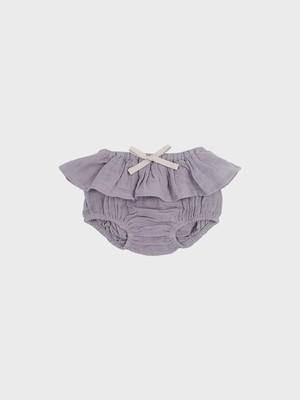 Petit Co. / Wren Bloomers Warm Grey