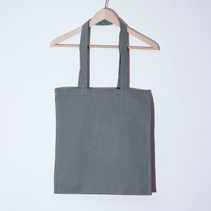 Long Handle Tote (Grey)