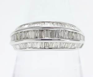 1.00ⅽt ダイヤモンド ハーフエタニティリング K18WG ~1.00ⅽt Diamond Half Eternity Ring K18WG~