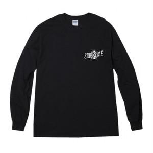 ロゴロングTシャツ【BLACK】
