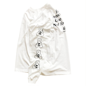 """Need Promotional Vinyl"" L/S Tee (WHITE) / LIFEdsgn"