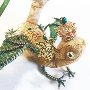 クリスマス宝石竜王 金の緑星