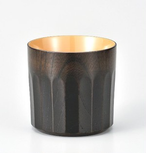KE10-04 欅 菊彫オールドファッション杯 神代白漆