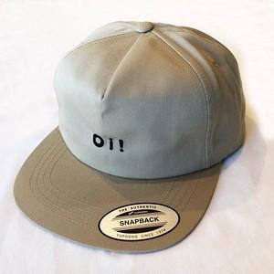 Oi! 5-PANEL SNAPBACK CAP SAND BEIGE