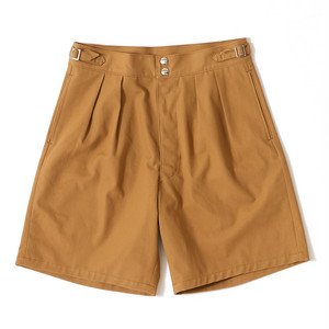 【FILL THE BILL】《MENS》WIDE GURKHA SHORTS - BEIGE
