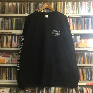 WATCH YOUR STEP●long sleeve Tsh(ブラック)