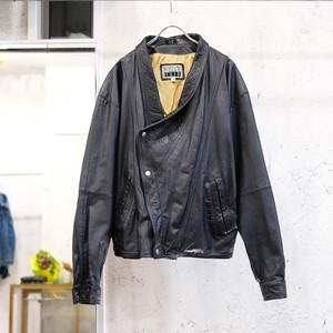 Deformation leather jacket