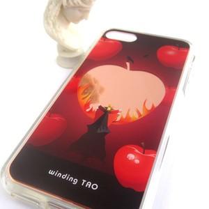〈物語シリーズ〉女王と毒りんごの鏡 iPhoneケース[7/8/SE2/X/XS]