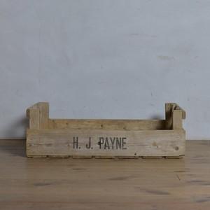 Wood Box / ウッド ボックス【B】〈植物・プランター・ガーデニング〉1806-0142