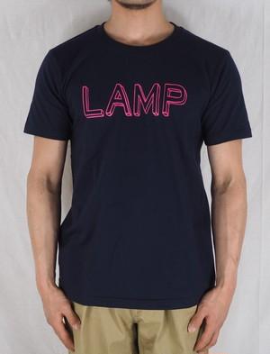 【Lamp】ランプ【Lamp T-shirt】ランプティーシャツ ネイビー/グリーン/バーガンディ/ブラック