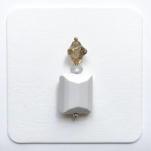 Odd Number Piece / Earrings 016