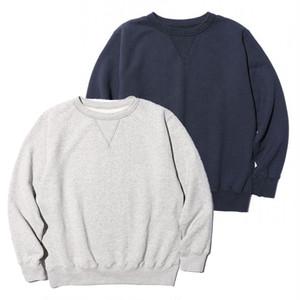 """JELADO """"Basic Collection"""" Sweatshirt ジェラード スウェットシャツ (ソルト&ペッパー)(ネイビー) [AB61234]"""