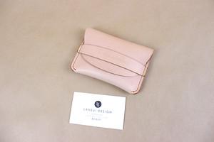 JAPAN LANSUI DESIGN 名入れ対応 ヌメ革手作り手縫い カードケース 名刺ケース 小銭入れ 品番QUI32432SKAS83JF