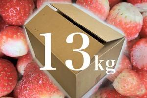 【大容量13kg】凍らさった しゃっこい いちご