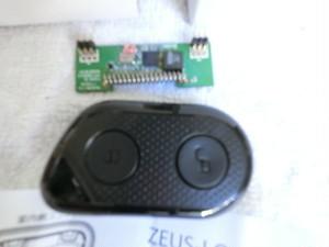 【リモコン1台と受信機】ZEUS-LOCK(ゼウスロック)用 リモコンセット