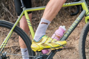TEAM DREAM BICYCLING TEAM / NEW Heather Supreme Socks (BROWN)