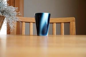 砥部焼/フリーカップ(中)/ストライプ/ヨシュア工房
