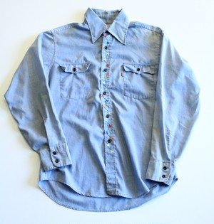 1970's Vintage Levis Chambray shirt