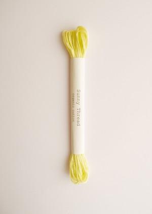 Sunny thread #3 オーガニックコットン 刺繍糸