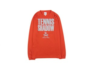 TENNIS SHADOW DryLongT レッド LS-004