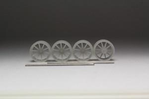 8.5mm Rohana RC10 タイプ 3Dプリント ホイール 1/64  未塗装
