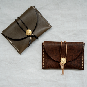 tomeri leather card case