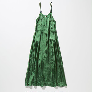 【FILL THE BILL】《WOMENS》RAYON CAMISOLE UNDER DRESS - GREEN