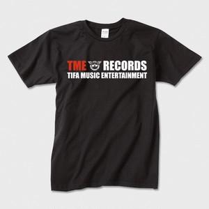 TME RECORDSロゴTシャツ(ブラック)