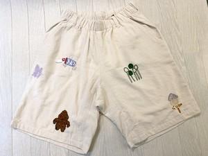 goslowcaravan 刺繍パンツ