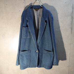 Eddie Bauer Denim Tailored Jacket