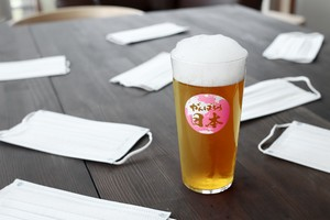 温度をデザインに。『がんばろう日本!タンブラー』 *丸モ高木陶器* お酒をより楽しむためのおしゃれな酒器!