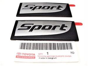 Lexus CT Sport Edition Badge Set