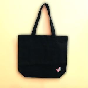 刺繍ロゴ トートバック(ブラック)