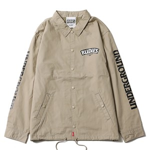 "RUDIE'S / ルーディーズ | "" SLICK COACH JACKET "" - Beige"