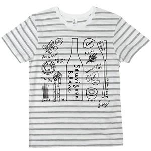 sauvignon blanc ボーダーTシャツ Mサイズ