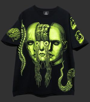 PAKKA2 T-shirt 蛍光Y