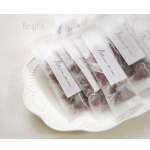 BRIGHT  -tea bags-