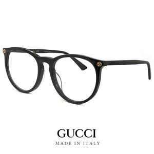 グッチ メガネ メンズ レディース ユニセックス gg0027oa 001 アジアンフィットモデル GUCCI 眼鏡 丸眼鏡 丸メガネ ボストン型