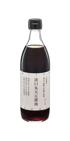淡口(うすくち)丸大豆醤油 500ml