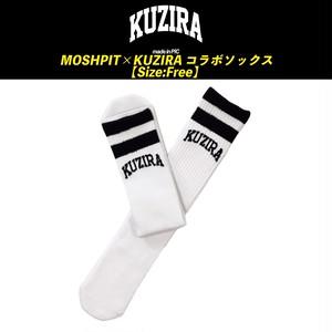 【KUZIRA】MOSHPIT×KUZIRAコラボソックス