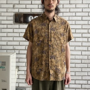 USED RAYON LINEN S/S SHT