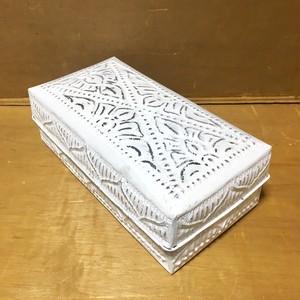 アルミBOX長方形 ホワイトL