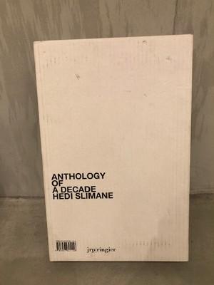 BOOK / HEDI SLIMANE 『ANTHOLOGY OF A DEADE』